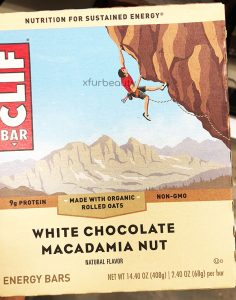 Clif White Chocolate Macadamia Bar
