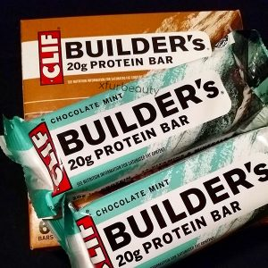 Faveeeee. Clif Builder's Mint Chocolate Protein Bar.