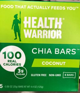 Health Warrior Chia Coconut Bars