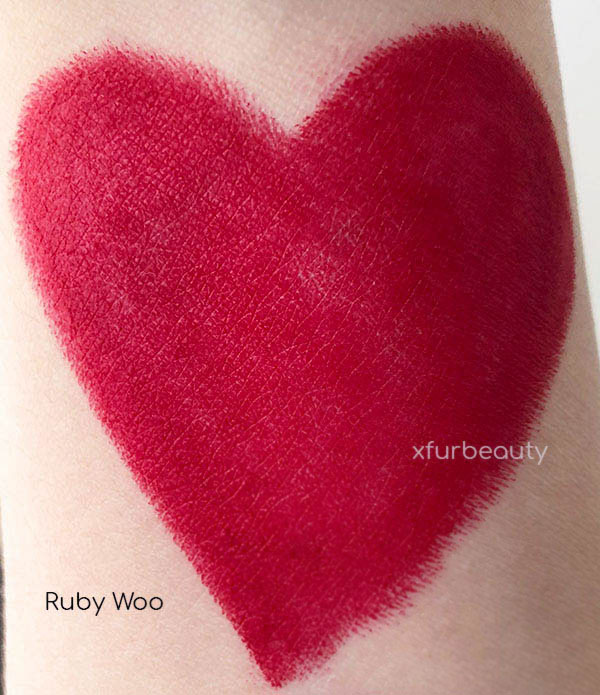 MAC Red Lipsticks Ruby Woo Russian Red