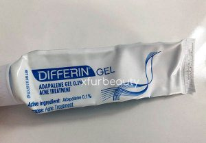 Differin Adapalene 0.1% Acne Treatment Gel