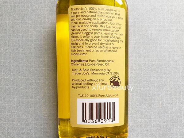 Trader Joe's Spa 100% Pure Jojoba Oil