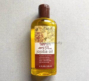 Before opening Trader Joe's Spa 100% Pure Jojoba Oil