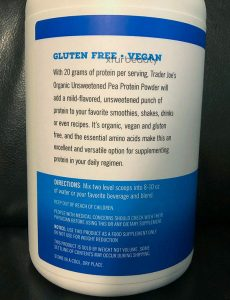 More about Trader Joe's Organic Pea Protein Powder Unsweetened