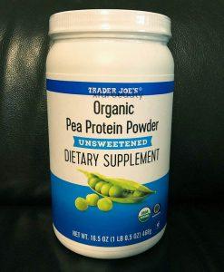 Trader Joe's Organic Pea Protein Powder Unsweetened
