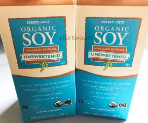 Trader Joe's Unsweetened Organic Soy Non-Dairy Beverage