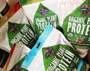 Garden of Life Organic Plant Protein Grain Free in Smooth Coffee, Energy, Chocolate, Vanilla