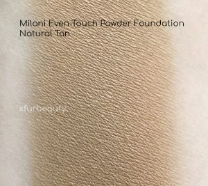 Milani Even Touch Powder Foundation in Natural Tan