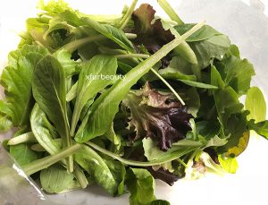 Greens with Arugula.