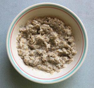 Post-flaxseed mixture