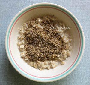 Flax-in my oatmeal