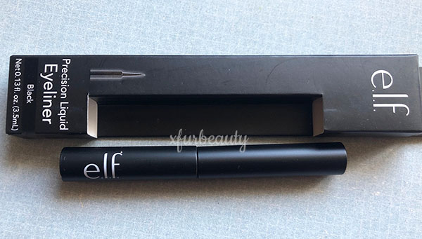 elf Precision Liquid Eyeliner in Black