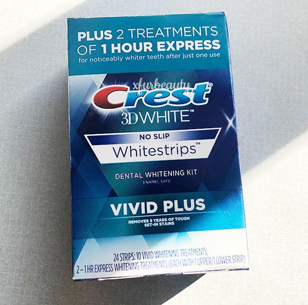 Crest 3D White Vivid Plus Whitestrips