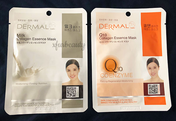 Dermal Milk Q10 Collagen Essence Mask