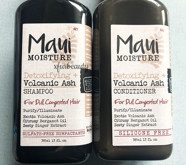 Maui Moisture Detoxifying Shampoo & Conditioner