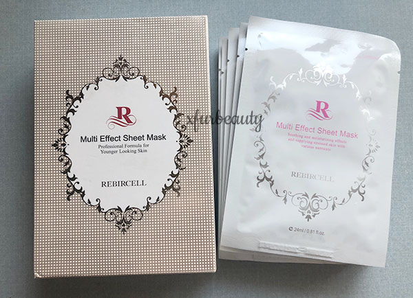 Rebircell Multi Effect Sheet Mask