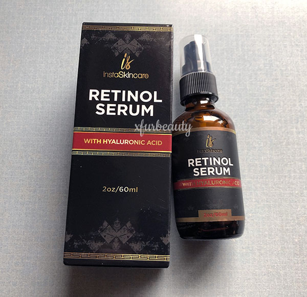 InstaSkincare Retinol Serum with Hyaluronic Acid