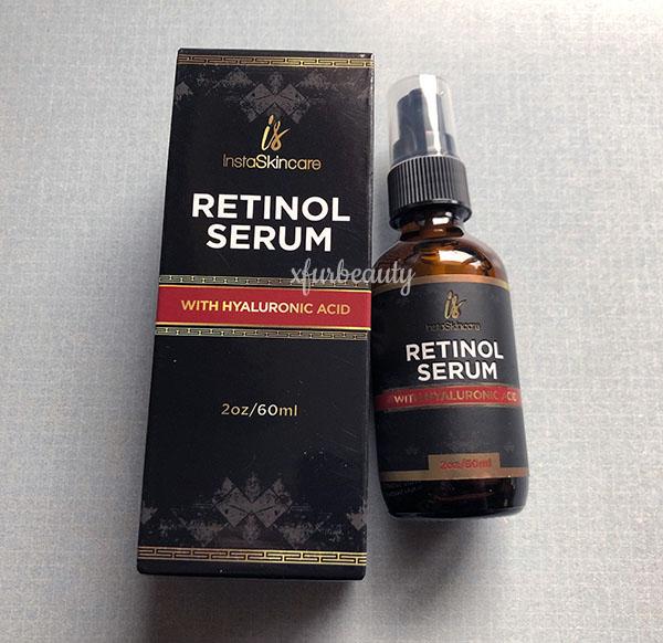 InstaSkincare Retinol Serum with Hyaluronic Acid