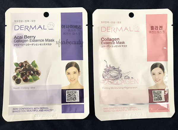 Dermal Acai Berry & Collagen Essence Mask