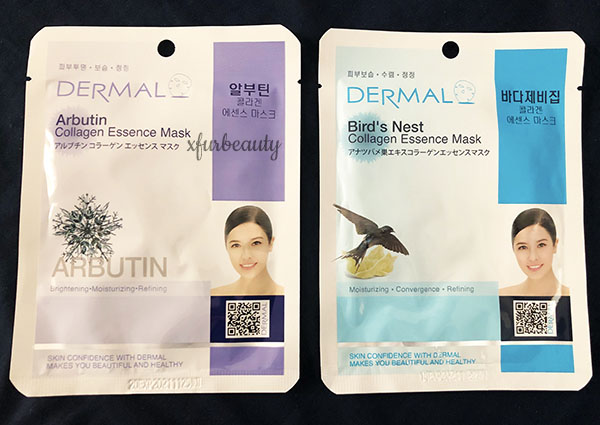 Dermal Arbutin & Bird's Nest Collagen Essence Mask