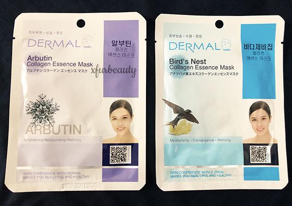 Dermal Arbutin & Bird's Nest Collagen Essence Mask
