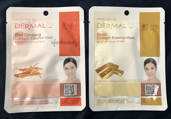 Dermal Red Ginseng & Gold Collagen Essence Mask