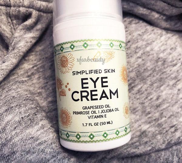 Simplified Skin Eye Cream