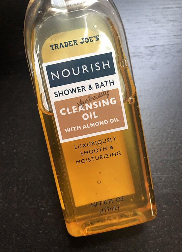 Trader Joe's Nourish Cleansing Oil