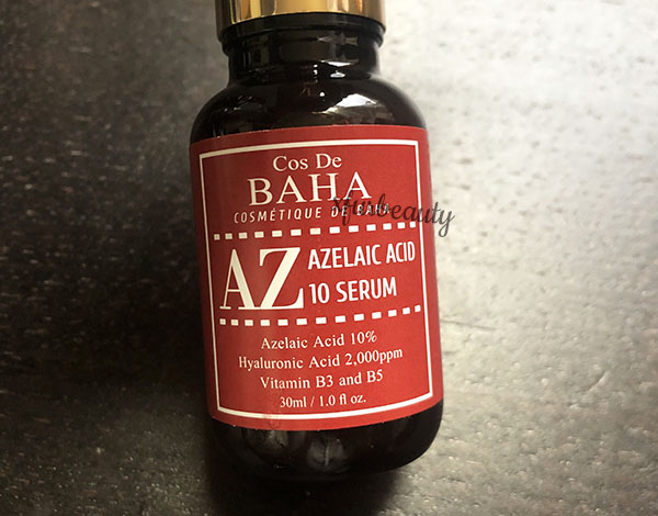 Cos De BAHA Azelaic Acid 10 Serum