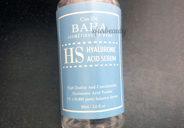 Cos De BAHA Hyaluronic Acid Serum