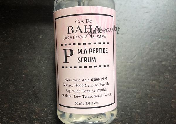 Cos De BHA MA Peptide Serum