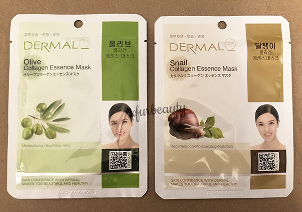 Dermal Olive Snail Collagen Essence Mask