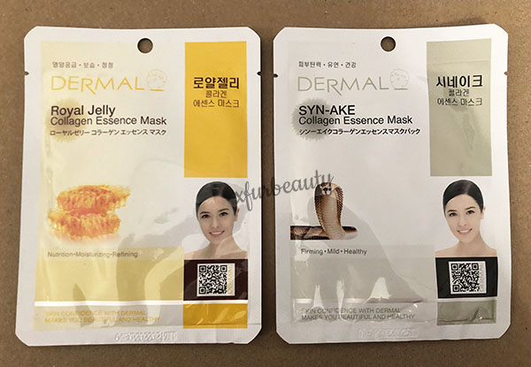 Dermal Royal Jelly Synake Collagen Essence Mask