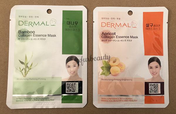 Dermal Bamboo Apricot Collagen Essence Mask
