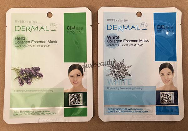 Dermal Herb White Collagen Essence Mask