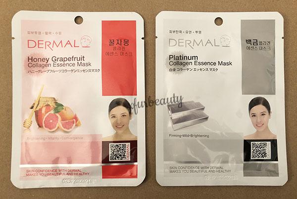 Dermal Honey Grapefruit Platinum Collagen Essence Mask
