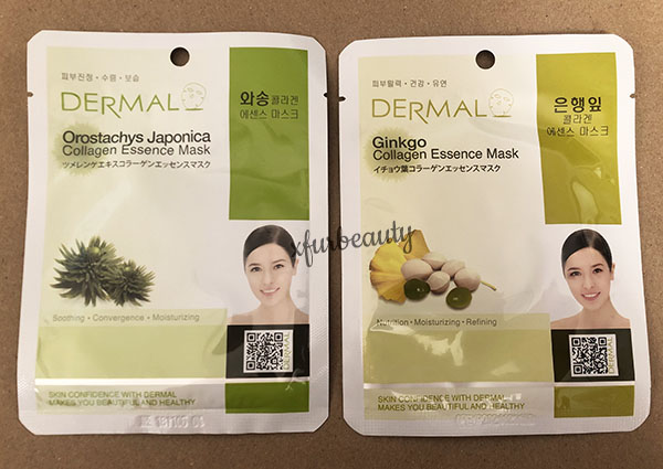 Dermal Orostachys Japonica Ginkgo Collagen Essence Mask