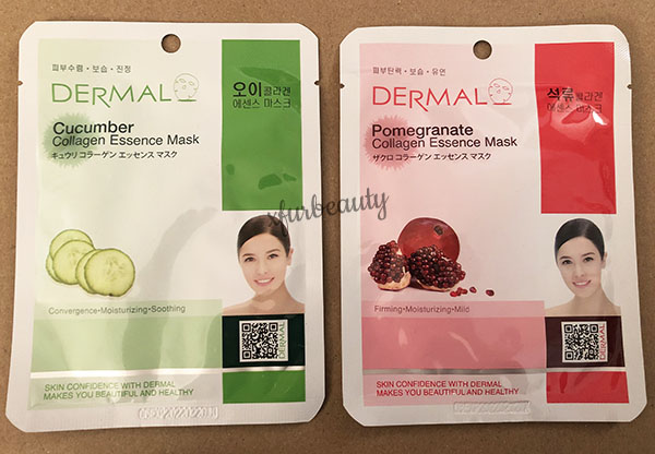Dermal Cucumber Pomegranate Collagen Essence Mask