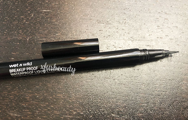 Wet n Wild Breakup Proof Waterproof Liquid Eyeliner