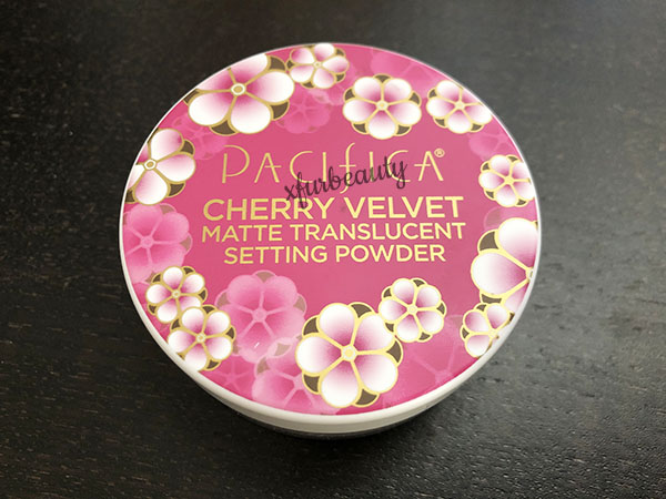 Pacifica Cherry Velvet Matte Translucent Setting Powder
