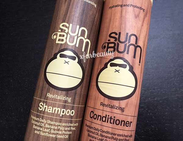 Sun Bum Revitalizing Shampoo and Conditioner