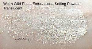 Wet n Wild Photo Focus Loose Setting Powder