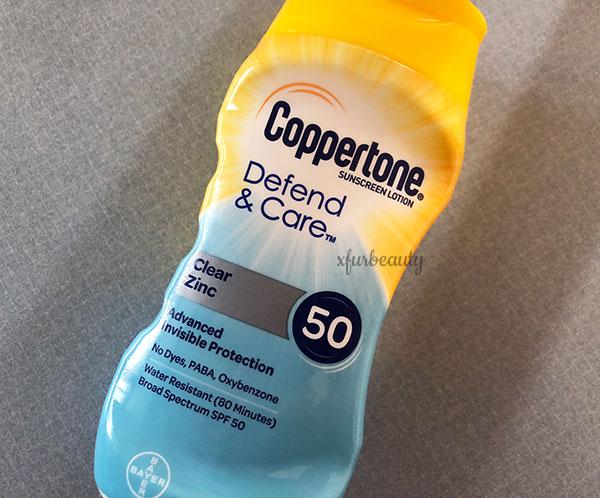 Coppertone Defend Care Clear Zinc 50