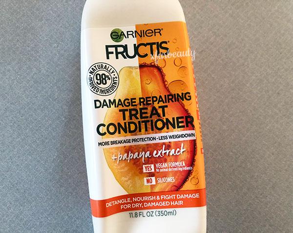 Garnier Fructis Damage Repairing Treat Conditioner + Papaya Extract