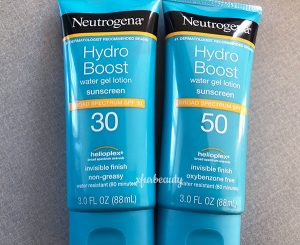 Neutrogena Hydro Boost Water Gel Lotion Sunscreen Broad Spectrum SPF 50